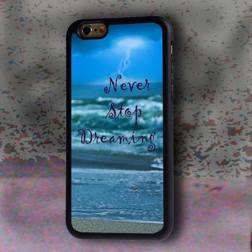 New Never Stop Dreaming Hard Case For iPhone 6 Plus #NJ