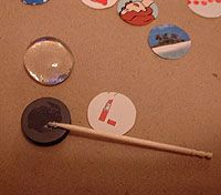 18 best images about 03-09. DIY - Marble Magnets on ...