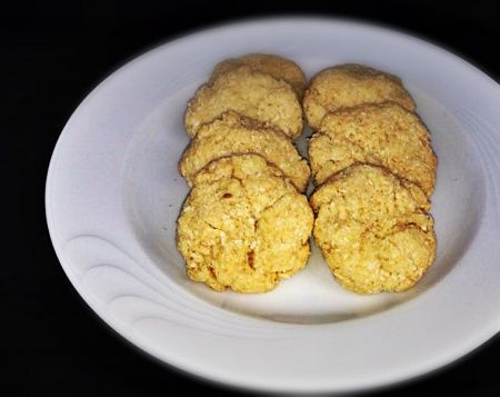 Biscotti al cocco senza burro e uova