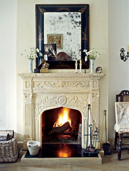 Vintage Fireplaces Make A Home Feel So Warm And Cozy