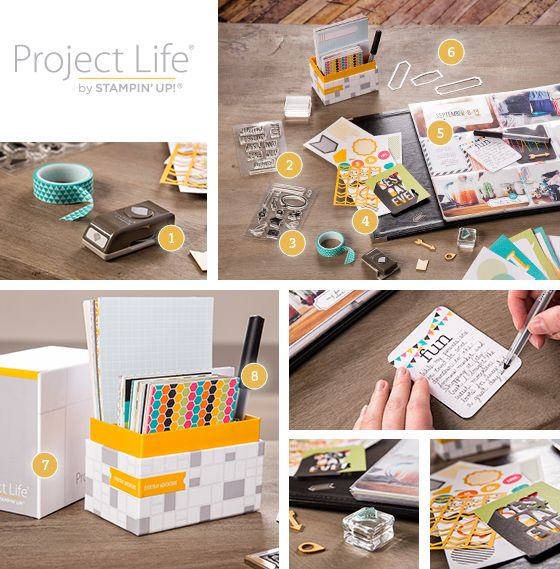 Stacy's Stampin' Spot: Project Life with Stampin' Up!