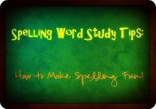Spelling Word Study Tips: How to Make Spelling Fun!  A list of fun activities that make practicing spelling words fun.