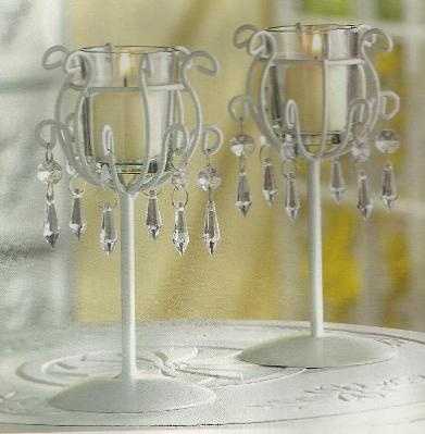 crystal drop votive stands crystal drop votive stands delicate crystal drops dangle from sleek wrought iron candle stands