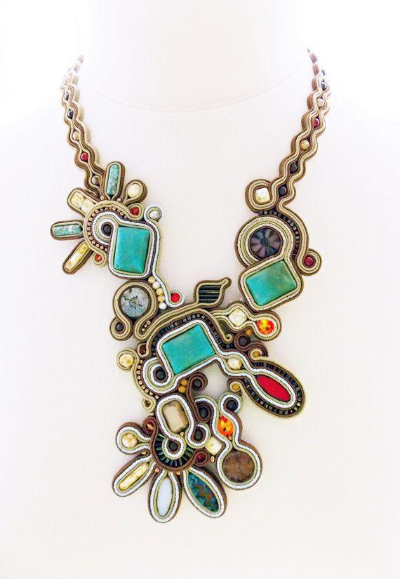 Soutache jewelry. Handmade Jewelry soutache by Soutachebypanka