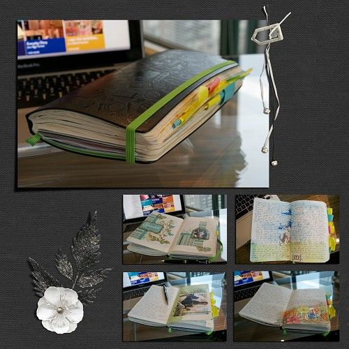 25th Creativity Challenge: How has your diary made it through 2014? - My Moleskine notebook, my soul - 2014