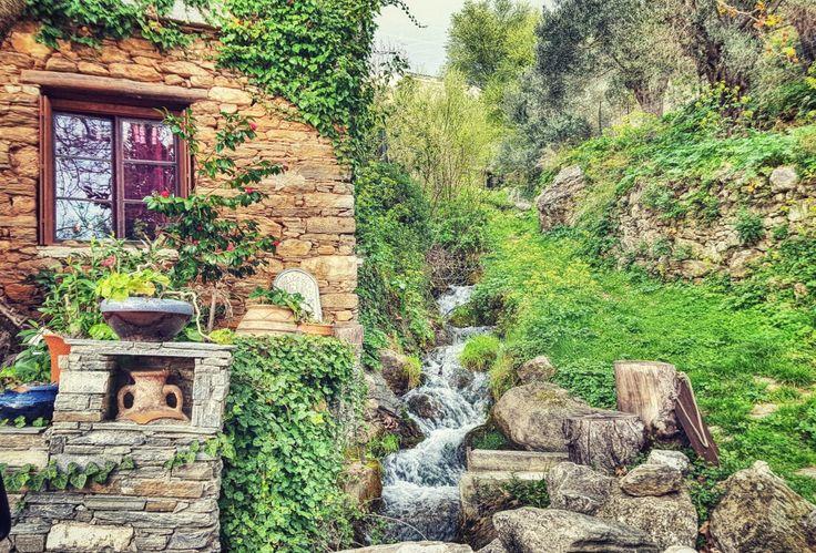 Village in South Evia Greece