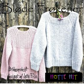 Strikket sweater fra Hotte Hit