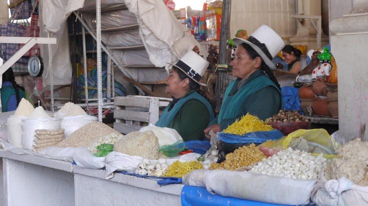Cusco local market, photo by Joy Whitney
