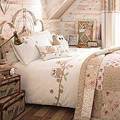 Enchanted Natural Duvet Cover & Pillowcases