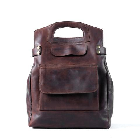 Morgan Backpack - Dark Brown