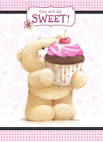 Forever Friends kaart met de tekst: You are so sweet!