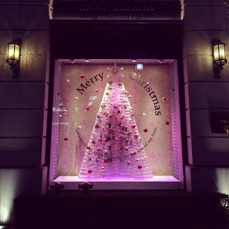"""Hanger tree"" at ANNIVERSAIRE OMOTESANDO"