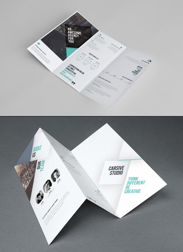 Best Brochure Templates Images On   Brochure Template