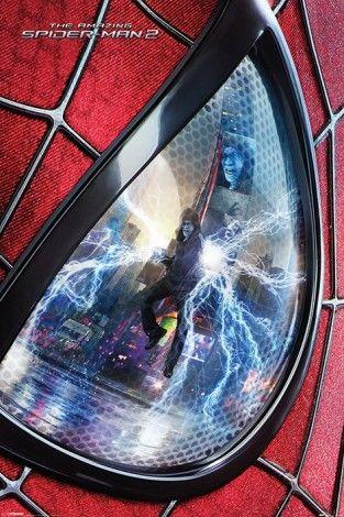 Niesamowity SpiderMan 2 - Oko - plakat - 61x91,5 cm  Gdzie kupić? www.eplakaty.pl