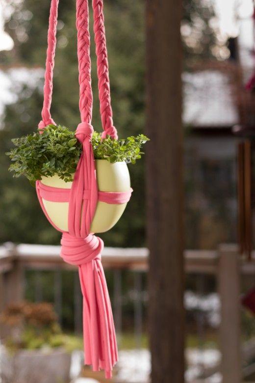 Ponad 25 najlepszych pomysłów na Pintereście na temat Blumenampel - blumenampel selber machen hangekorb