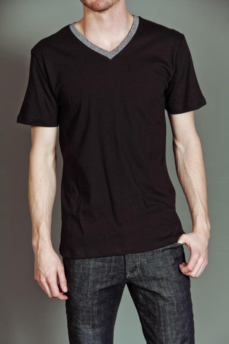 Lords & Liberties Salvage V-Neck Shirt Washed Black: Vneck Shirts, Shirts Wash, Liberty Salvaged, Salvaged V Neck, B Rac, V Neck Shirts, Black Shirtssss, Wash Black, Men Night