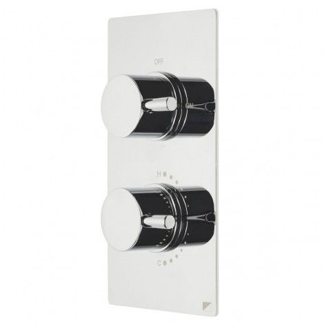 Event concealed round dual control shower valve | Roper Rhodes