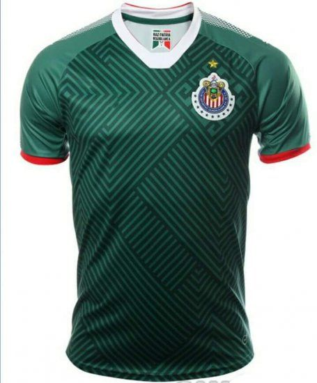 chivas 2017 18 season third liga mx shirt jersey