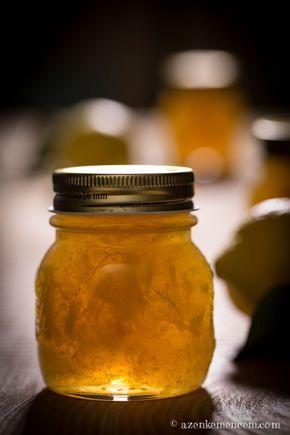 Citromlekvár - a citrom marmeládé