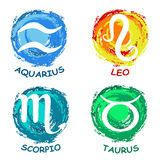 Scorpio Zodiac Sign Horoscope Circle Watercolor Stock Photos, Images, & Pictures - 21 Images