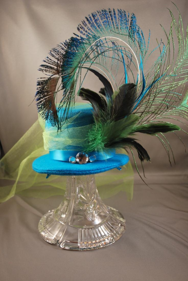 Peacock Hat $20.00 order Halfinthebagdesigns@gmail.com