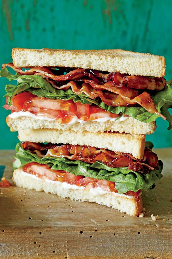 The SL BLT - Bacon Makes Everything Better - Southernliving. Recipe: The SL BLT  Punch up store-bought mayonnaise with these flavor-boosting ideas: For extra tang and heat, zest a small lemon and grind lots of black pepper into the mayo. For a hint of green, chop a small handful of tender herbs—parsley, basil, tarragon, dill—and fold them into the mayo.