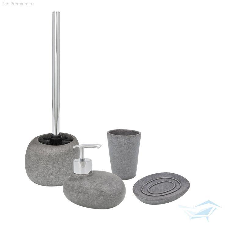 wenko pebble stone pebble stonetoilet brushsoap dishessoap accessories