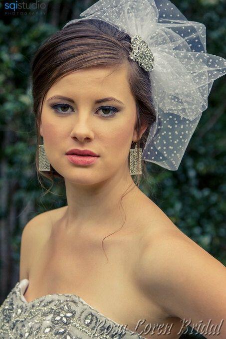 Wedding Veil - Short Veil by Bouquet By Rosa Loren