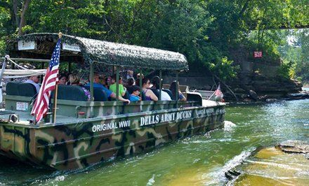 image for Dells Army Duck Tour—Up to 41% Off Amphibious Tour