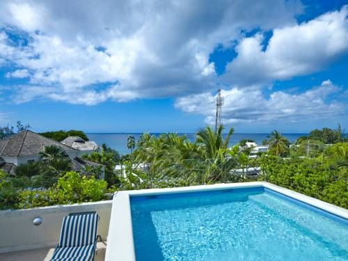 This stunning 2-bedroom Barbados vacation rental offers a luxurious ambiance and panoramic views of the Caribbean sea...