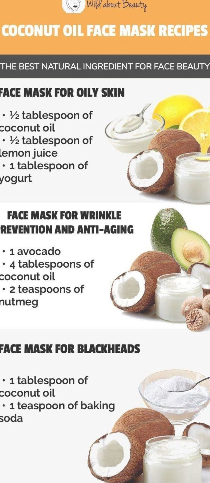 8 Coconut Oil Face Mask Recipes – The Best Natural Ingredient for Face Beauty …
