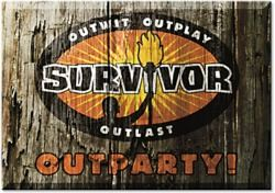 Survivor themed party- Outwit, outplay, outlast, outPARTY!  This would be awesome in summer.  If I held it outside and came up with some challenges for everyone to compete in.