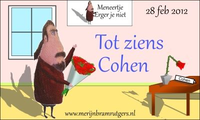 Job Cohen leaves the Dutch Lower house