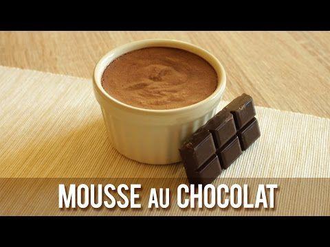 MOUSSE AU CHOCOLAT || Sans Oeuf, ni Lait, ni Soja ( Vegan ) - YouTube