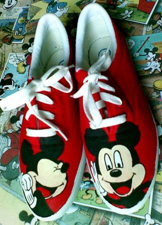 Mickey Mouse-Shoelace-Rp 180.000
