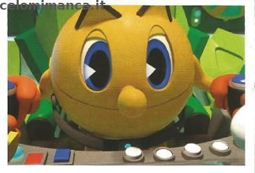 Pac-Man and the Ghostly Adventures: Fronte Figurina n. 156 -