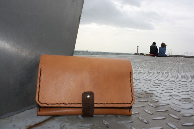 handmade leather tobacco case by leather crafts anthi