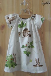 Krydasu: Little girls peasant dresses