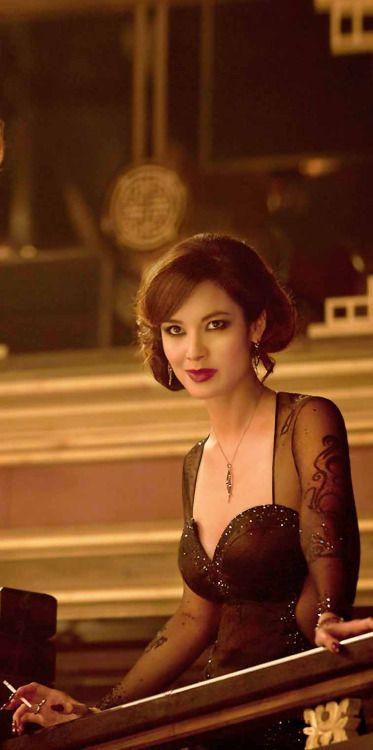 Berenice Lim Marlohe as Severine in 007 Skyfall, 2012.
