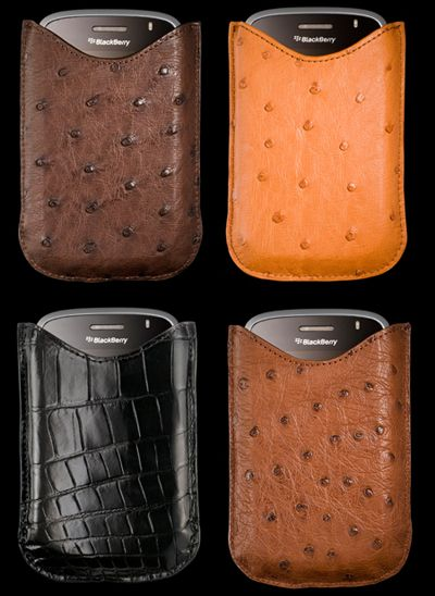 Alexander Amosu's BlackBerry Bold Leather Cases