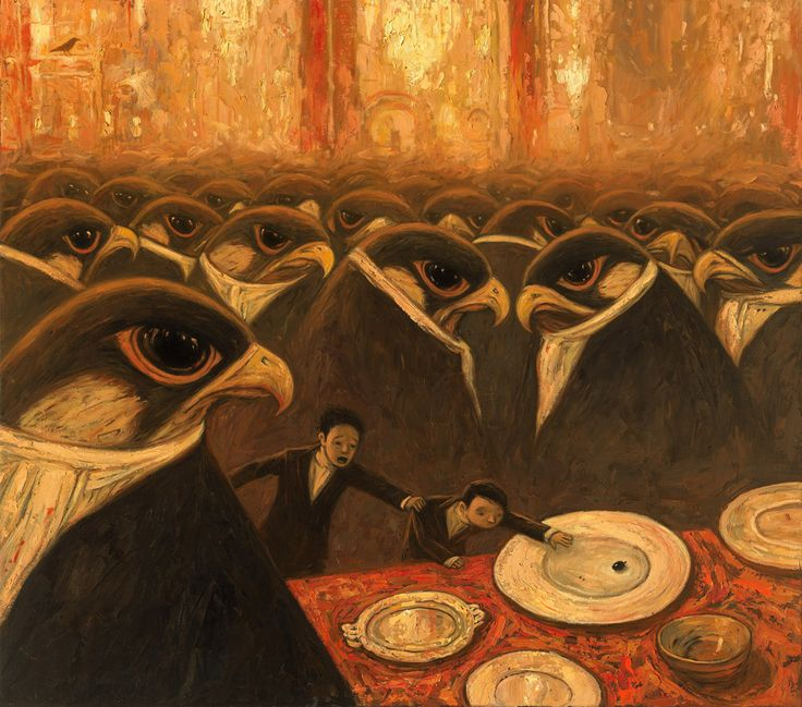 Illustration from 'Rules of Summer' by Shaun Tan: