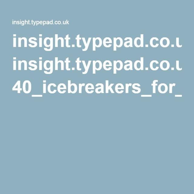 big al ice breakers pdf