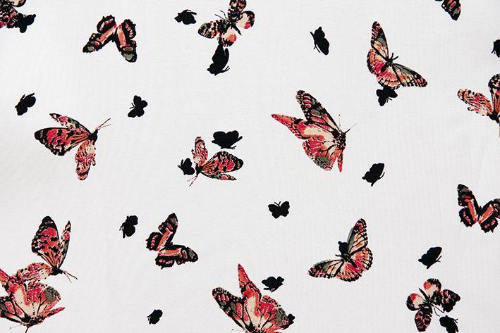 Vintage ruha - pillangó minták