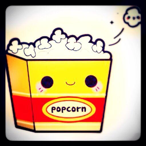 KAWAII! Popcorns Muokkaus: Facetune