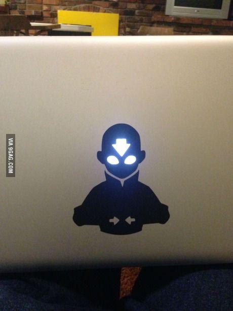 Coolest macbook sticker ever