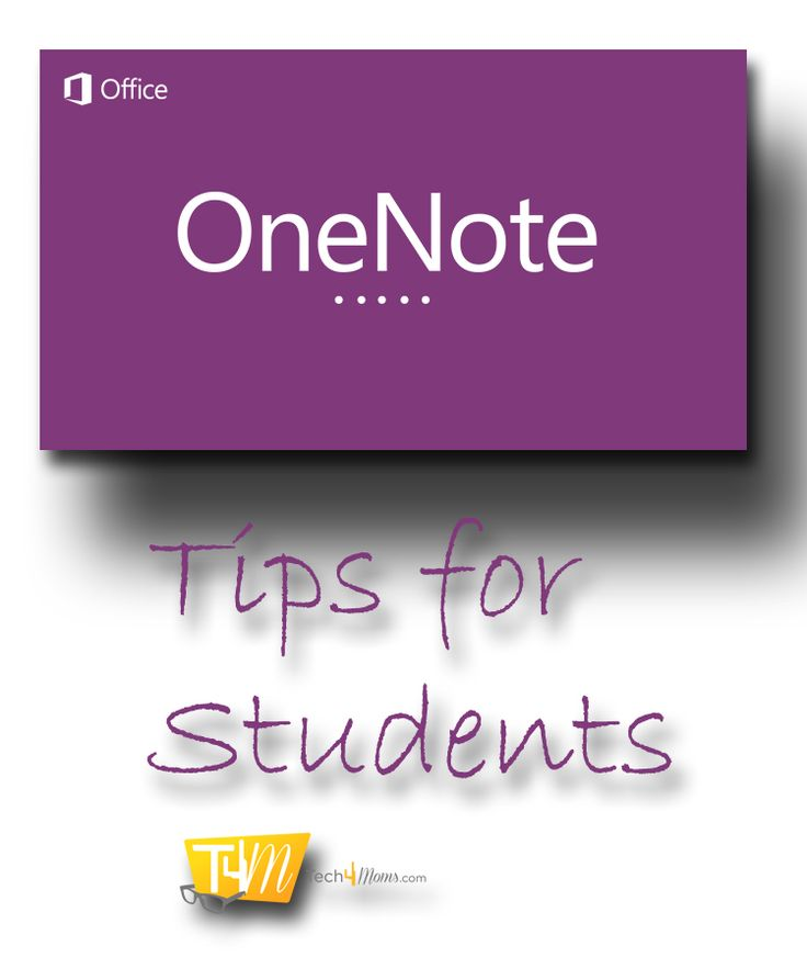 OneNote Tips for Students