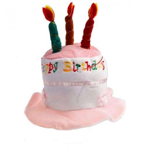 Doğum Günü Pastası Şekilli Şapka