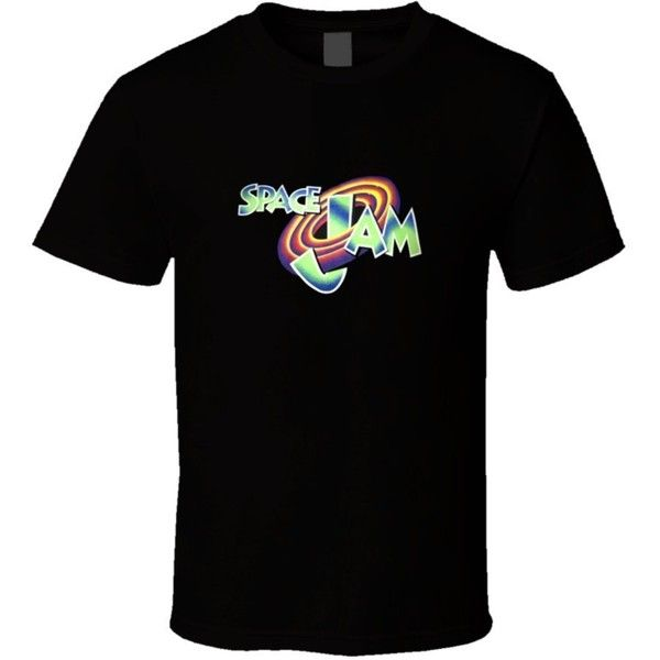 Retro Space Jam T Shirt ($11) ❤ liked on Polyvore featuring tops, t-shirts, retro tees, retro tops and retro t shirts