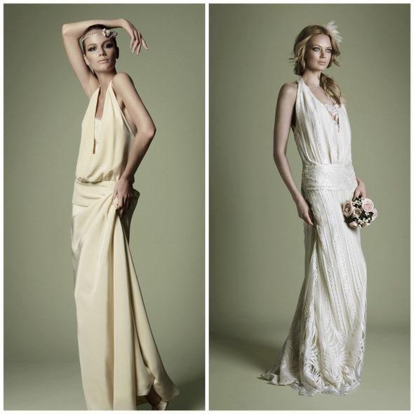 Свадебное платье в стиле 20