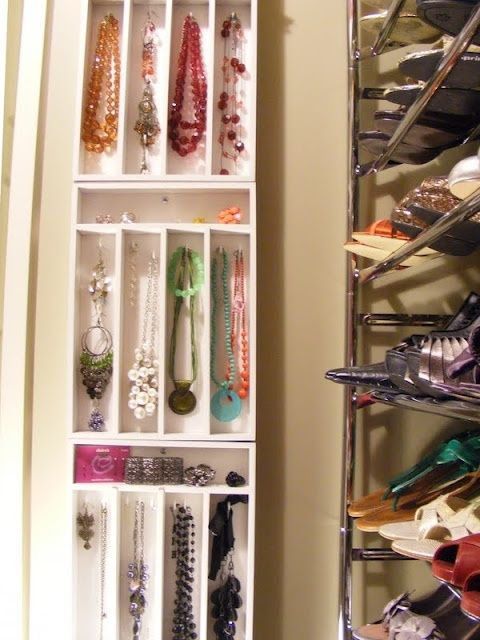 making jewellery storage from cutlery drawers tips-tricks.